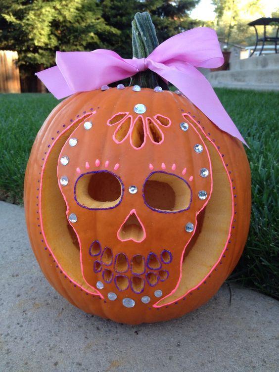 Embellished Princess Pumpkin